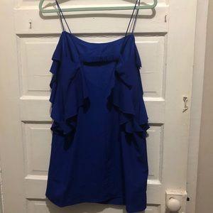 Forever 21 Blue Dress Sz Med